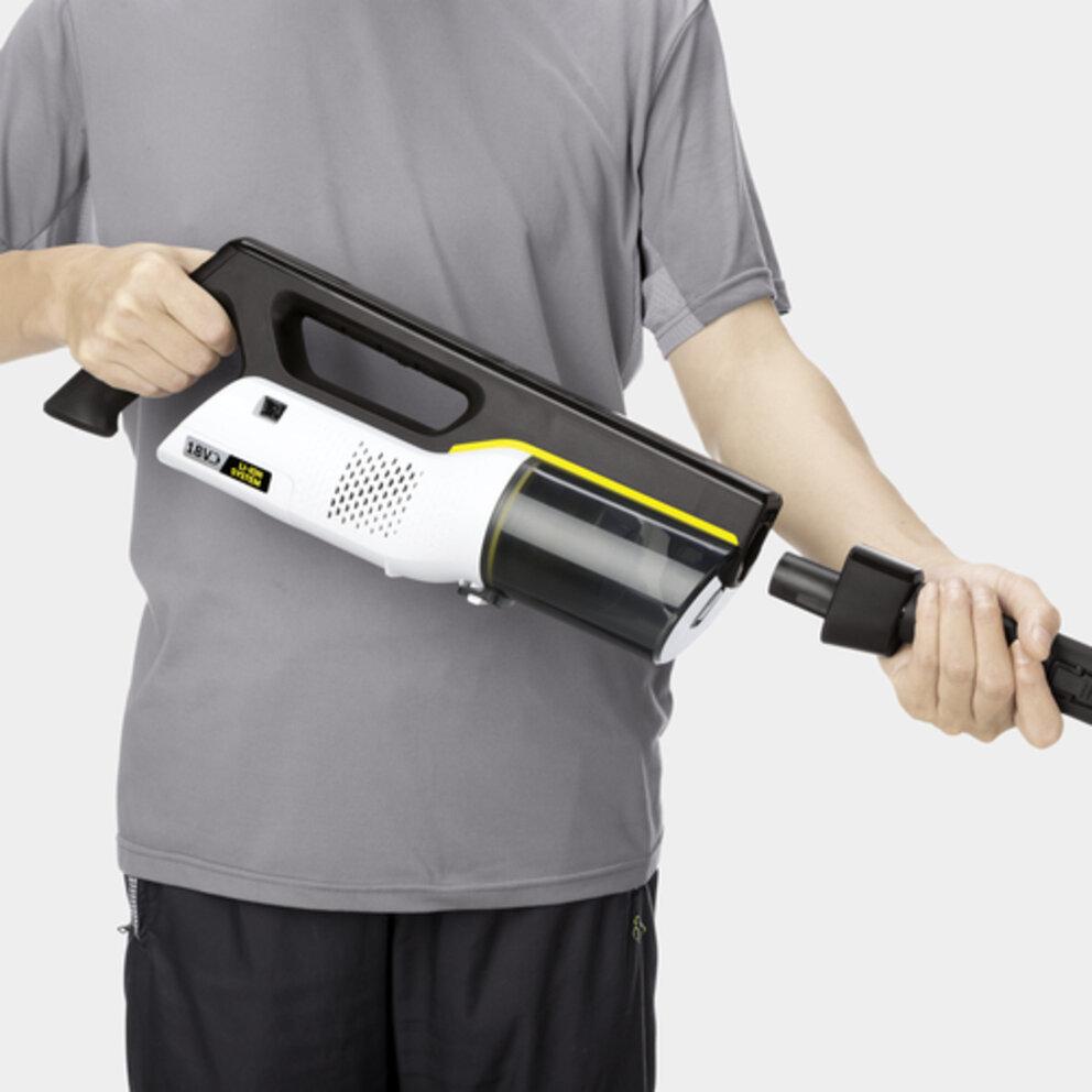 Handheld vacuum cleaner VC 4i Cordless (white): Incredibly versatile
