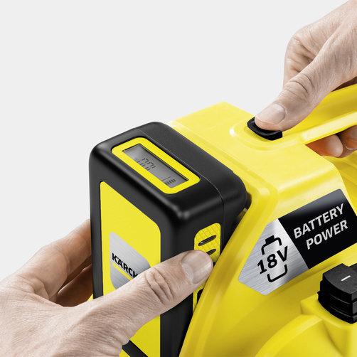 Többfunkciós porszívó WD 1 Compact Battery: 18 V-os Battery Power pótakkumulátor