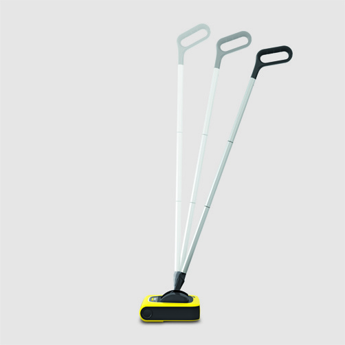 Cordless electric broom KB 5: Automatic on/off switch