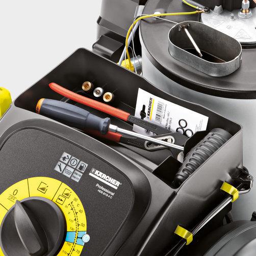 Аппарат высокого давления HDS 8/17 CX: Удобство хранения
