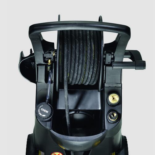 HD 13/18-4 SX Plus: Almacenamiento para mangueras
