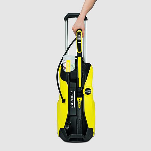 Мини-мойка K 7 Full Control Plus: Парковочное положение для легкого хранения принадлежностей в любое время