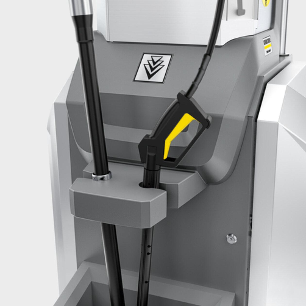 SB M2: Prihvat alata za pranje izravno na uređaju