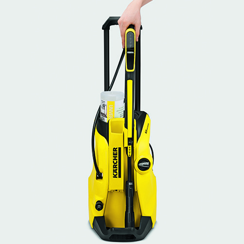 Pressure washer K 4 Full Control: Parking position for easy accessory storage at all times