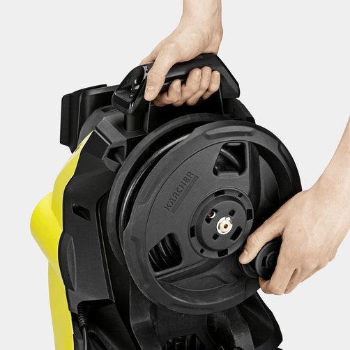 Magasnyomású mosó K 4 Premium Power Control: Tömlődob a kényelmes kezelés érdekében