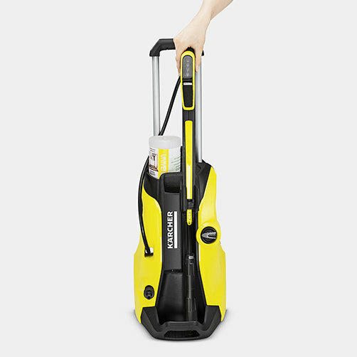 High pressure washer K 5 Premium Full Control: Parking position for easy accessory storage at all times