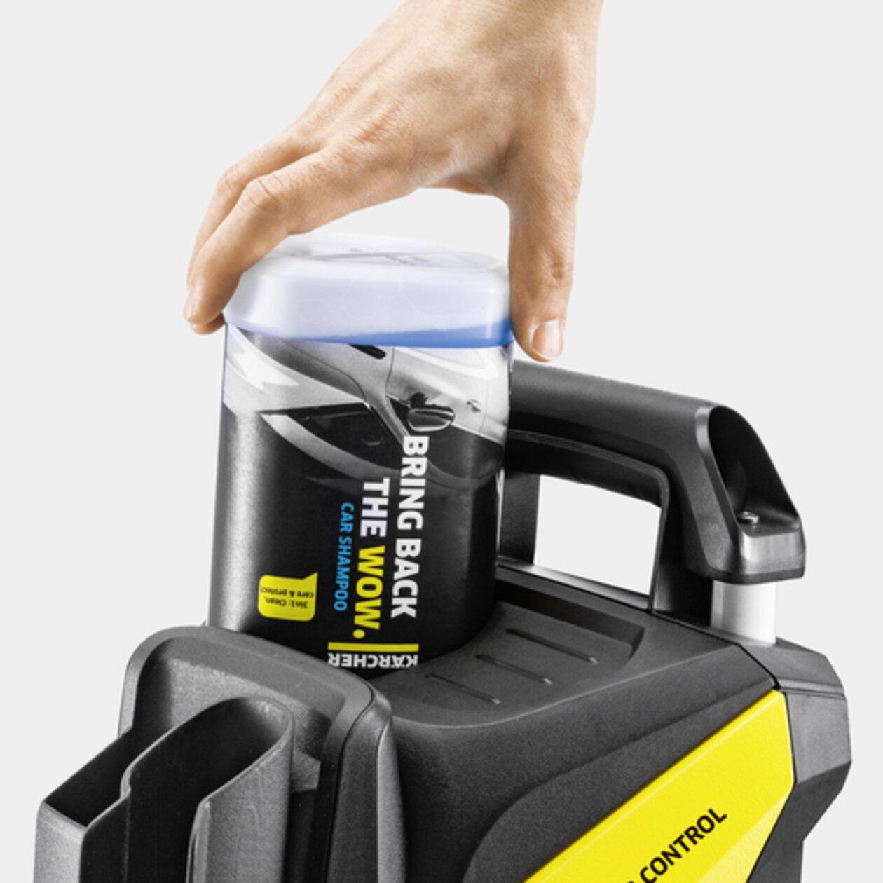 Vysokotlakový čistič K 5 Power Control Car & Home: Plug 'n' Clean - systém čistiacich prostriedkov Kärcher