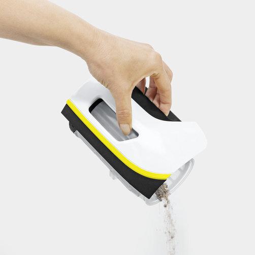Kézi porszívó VC 5 Premium (fehér): Háromfázisú, porzsákmentes szűrőrendszer