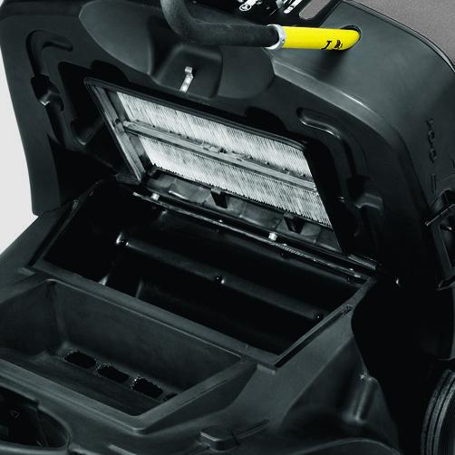 KM 85/50 W G Adv: Sistema de filtros potente