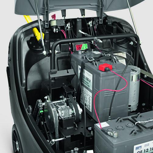 KM 85/50 W G Adv: Chasis compacto de doble pared