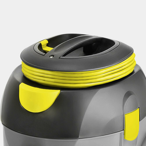 Dry vacuum cleaner T 12/1: On-board cord storage