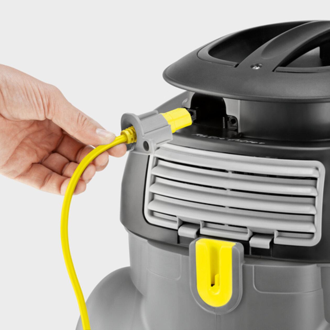 Пылесос сухой уборки T 15/1 Eco!efficiency: Удобство в обслуживании