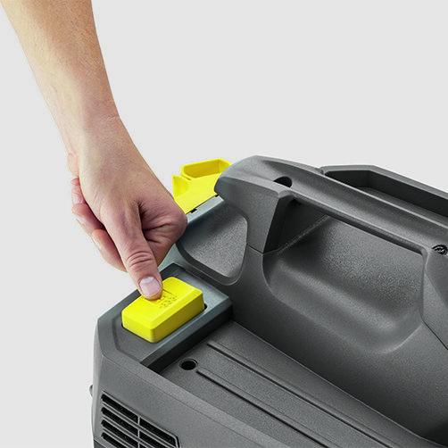Пылесос сухой и влажной уборки NT 20/1 Ap Te: Полуавтоматическая система очистки фильтра