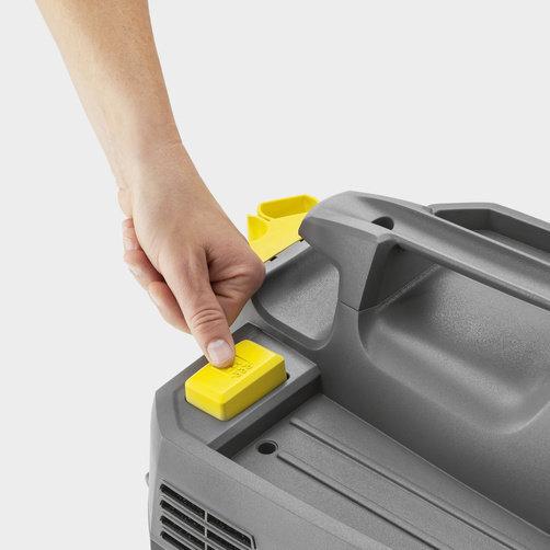Пилосос сухого і вологого прибирання NT 20/1 Ap Te: Напівавтоматична система очищення фільтра