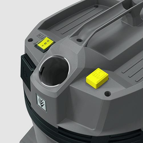 Пилосос сухого і вологого прибирання NT 22/1 Ap Te: Напівавтоматична система очищення фільтра
