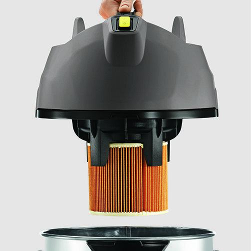 NT38/1Me Classic Edition: Aspiración sin bolsa de filtro