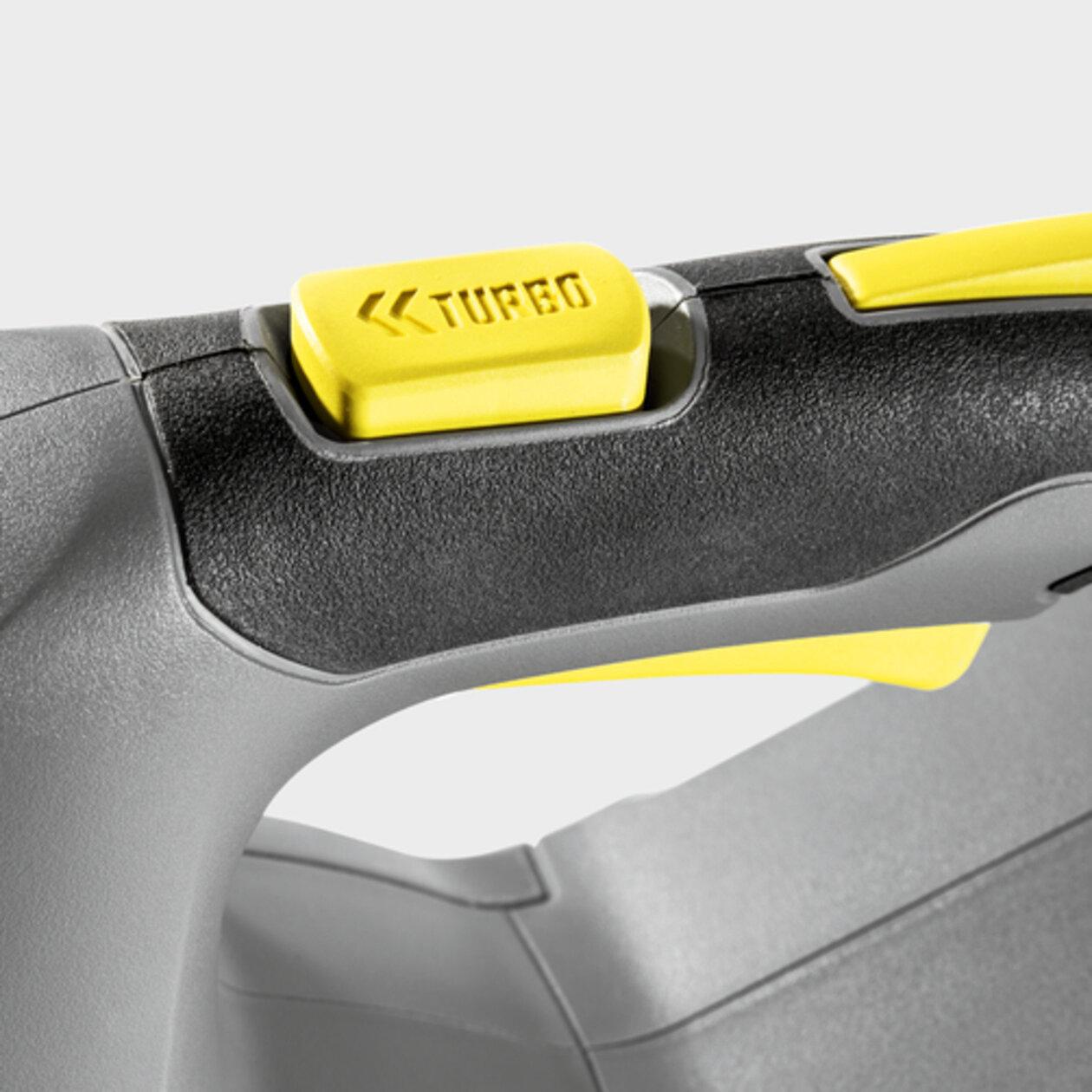 KAERCHER LB 850 Bp: Кнопка Turbo для короткочасного збільшення продуктивності