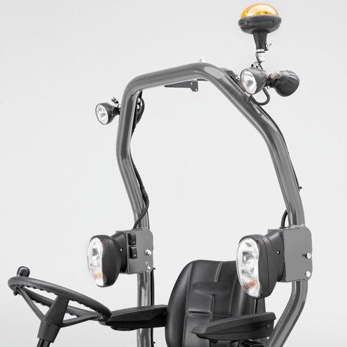 MIC 26C: Opcionális fénycsomag
