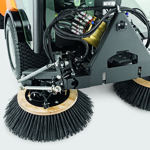 City sweeper MC 80: The highest standard of sweeping