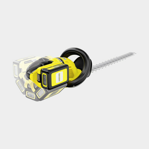 Nožnice na živý plot HGE Battery 18-50: Otočná rukoväť