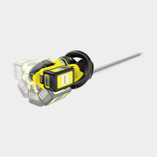 HGE 36-60 Akkumulátoros sövényvágó készlet: Forgatható fogantyú