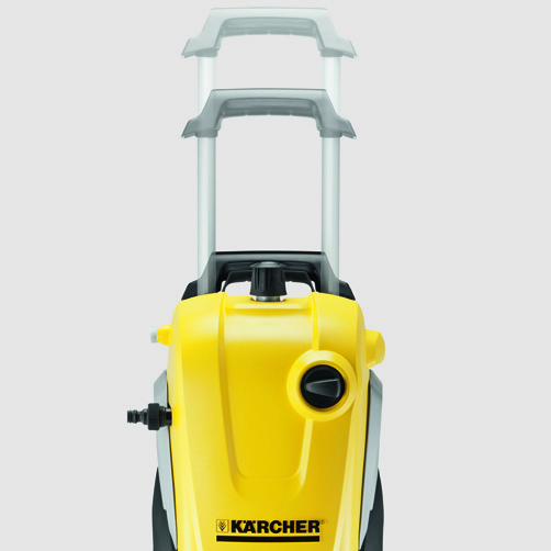 High pressure washer K 7 Compact: Easy to transport
