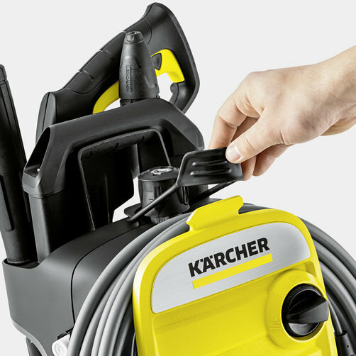 High pressure washer K 7 Compact: Sophisticated hose storage concept