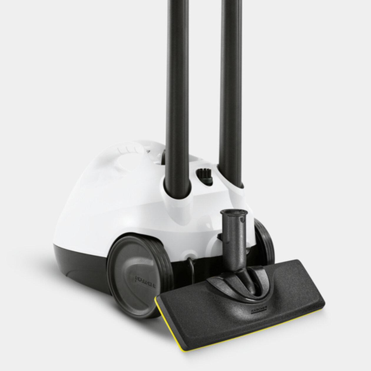 Пароочиститель SC 2 EasyFix Premium: Место для хранения аксессуаров и парковка для насадки