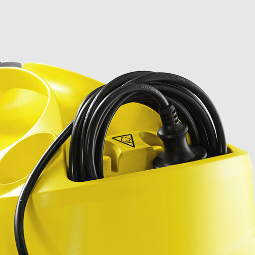 Steam cleaner SC 4 EasyFix: Integrated cable storage compartment