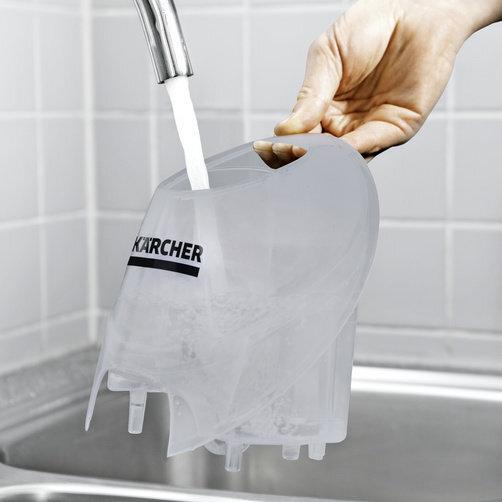 Пароочиститель SC 4 EasyFix Iron: Съемный бак для постоянного долива воды