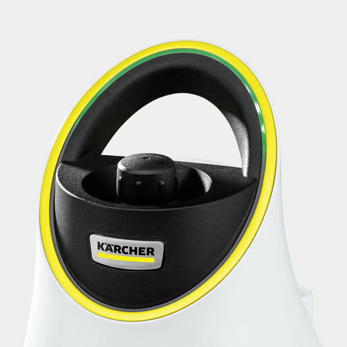 Gőztisztító SC 2 Deluxe EasyFix Premium (fehér): LED kijelző a készüléken