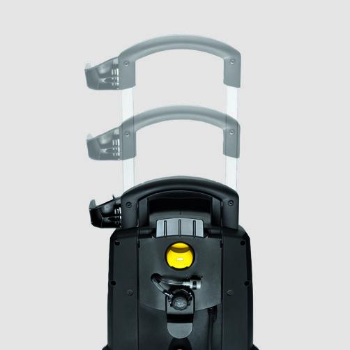Аппарат высокого давления HD 6/15 C: Телескопическая рукоятка