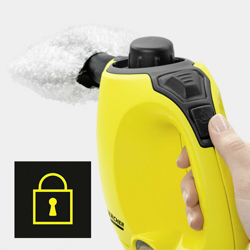 Parný čistič SC 1: Detská poistka na stroji