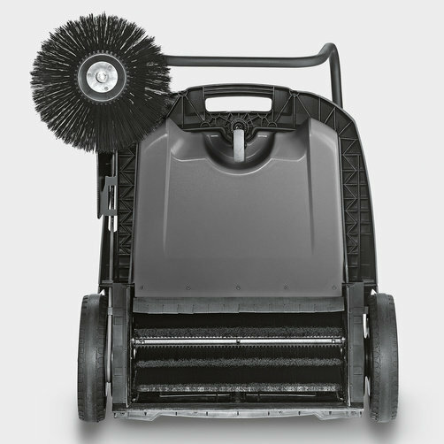 Compact floor sweeper KM 70/20 C: Main roller brush drive