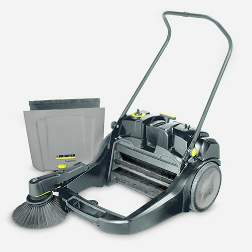 Sweeper KM 70/20 C 2SB: Large dirt container