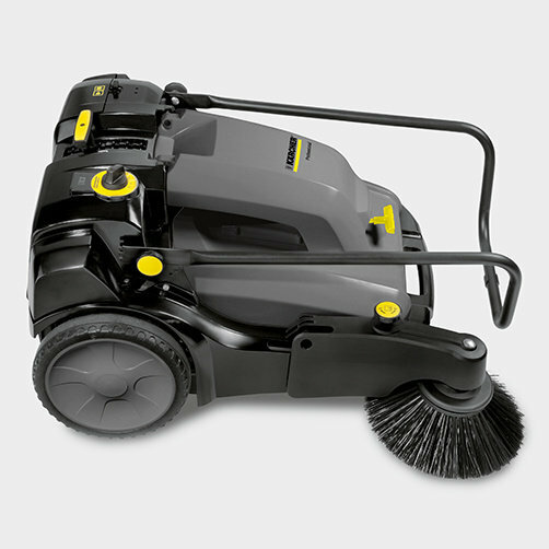 Sweeper KM 70/30 C Bp Adv: Easy to transport
