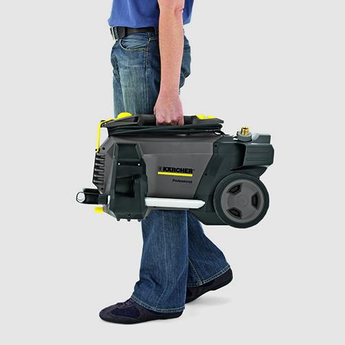 Аппарат высокого давления HD 5/15 C: Мобильность