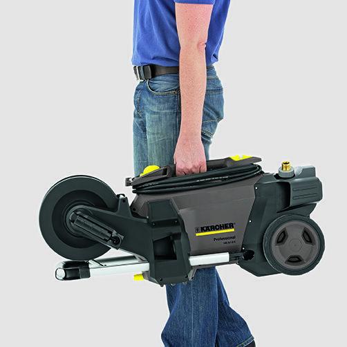 Vysokotlaký čistič HD 5/17 CX Plus: Mobilita