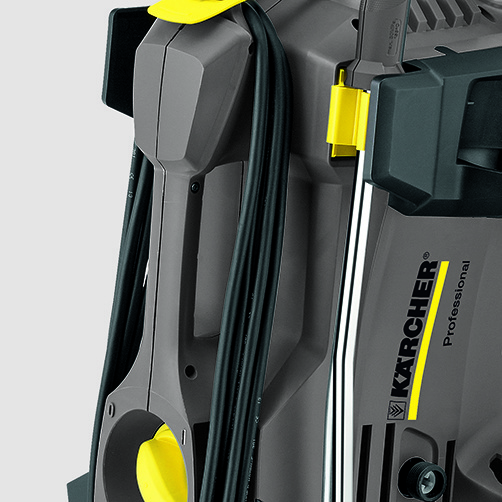 High Pressure Cleaner HD 4/9 P 110V: First-class mobility
