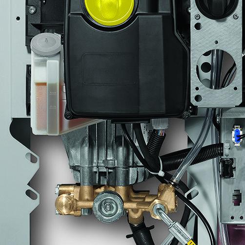 HD 13/12-4 ST: Luôn luôn linh hoạt nhờ có khả năng bổ sung công suất nhanh chóng.