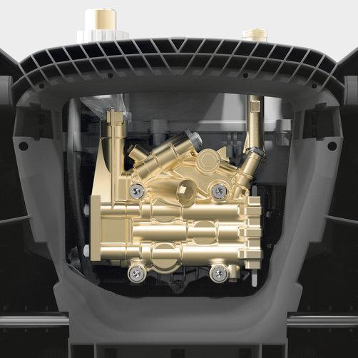 HD 8/18-4 M Plus: Príkladná jednoduchá údržba