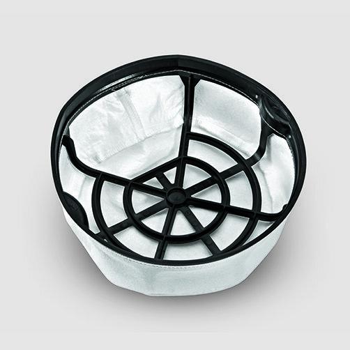 Пылесос сухой уборки T 14/1 Classic: Основной корзинный фильтр для оптимального отделения пыли.