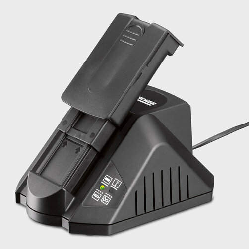 Аккумуляторный пылесос EB 30/1 Adv Li-Ion: Быстрозарядное устройство
