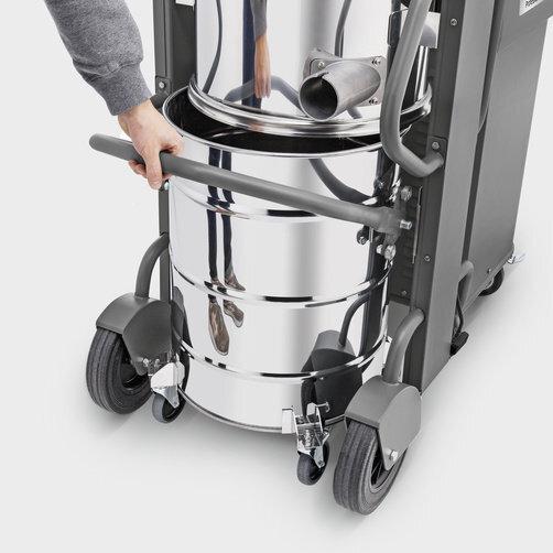 IVS 100/40: Удобная двух-сторонняя система фиксации мусоросборника
