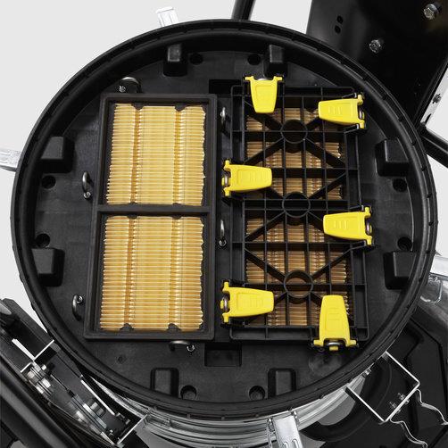 IVC 60/30 Ap M Z22: Con filtro plegado plano compacto