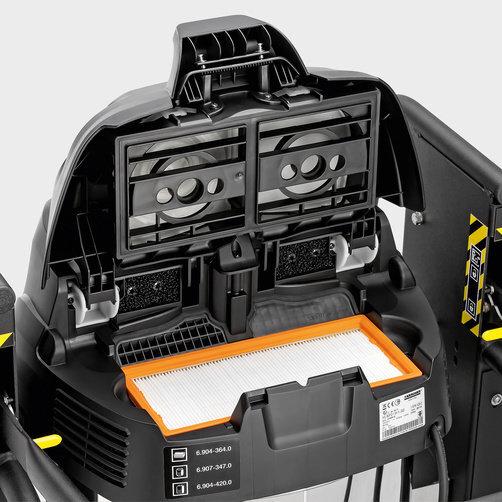IVC 60/30 Ap M Z22: Kompakt lapos redős szűrővel
