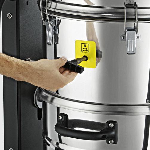 IVC 60/24-2 Ap: Manuální oklep filtru pro nižší provozní náklady