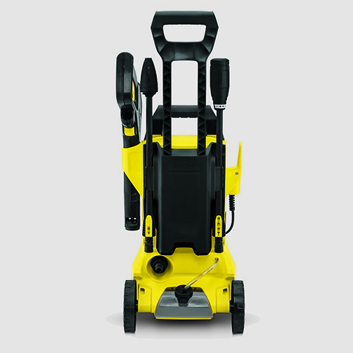 High pressure washer K 3 Full Control: Supports for accessories, high-pressure gun and cable