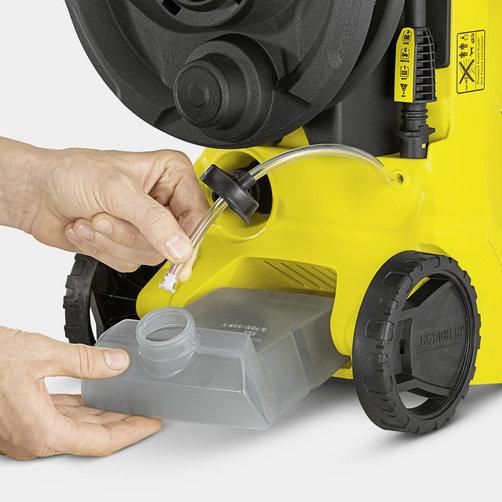 Міні-мийка K 3 Full Control: Вбудований бак для миючого засобу
