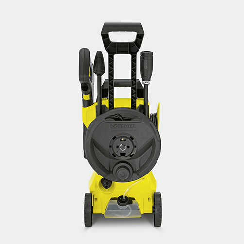 High pressure washer K 3 Premium Full Control: Supports for accessories, high-pressure gun and cable
